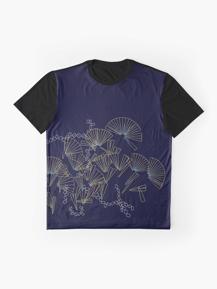 Alternate view of Licmophora - naive diatoms Graphic T-Shirt