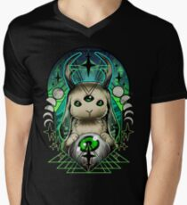 Space Bunny  V-Neck T-Shirt