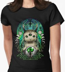 Space Bunny  Women's Fitted T-Shirt