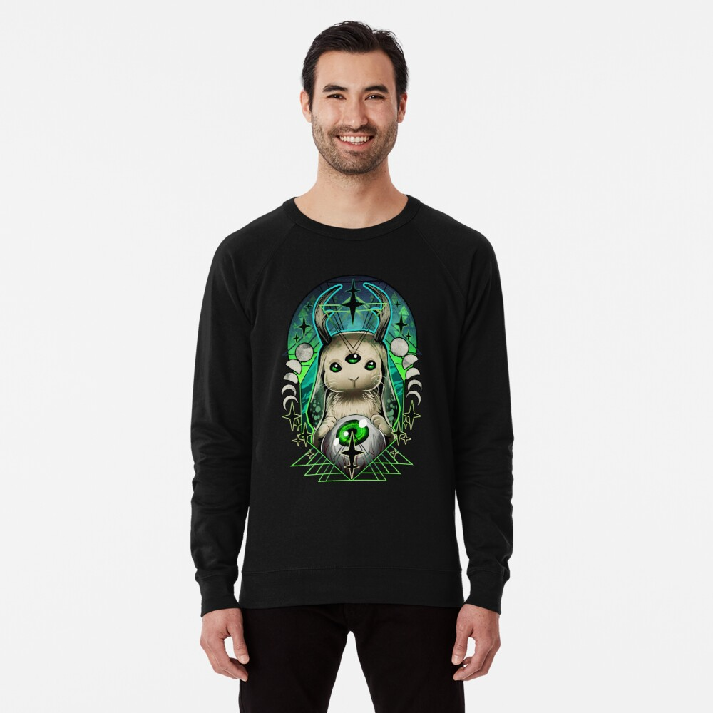 Space Bunny  Lightweight Sweatshirt