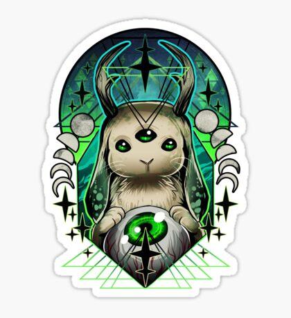 Space Bunny  Sticker