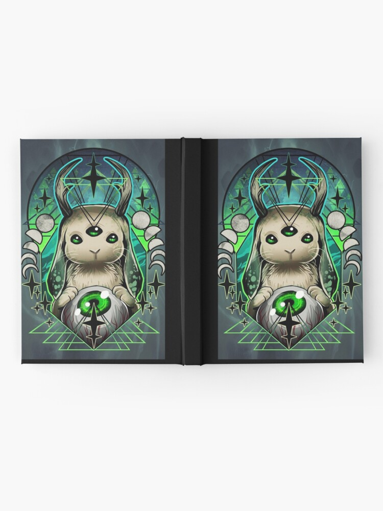 Alternate view of Space Bunny  Hardcover Journal