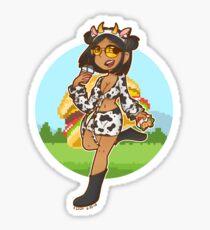 Doja Cat - Mooo! Sticker