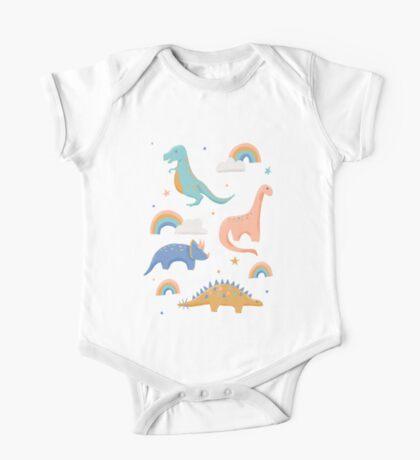 Dinosaurs + Rainbows Kids Clothes
