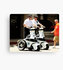 Robo Cops? Canvas Print