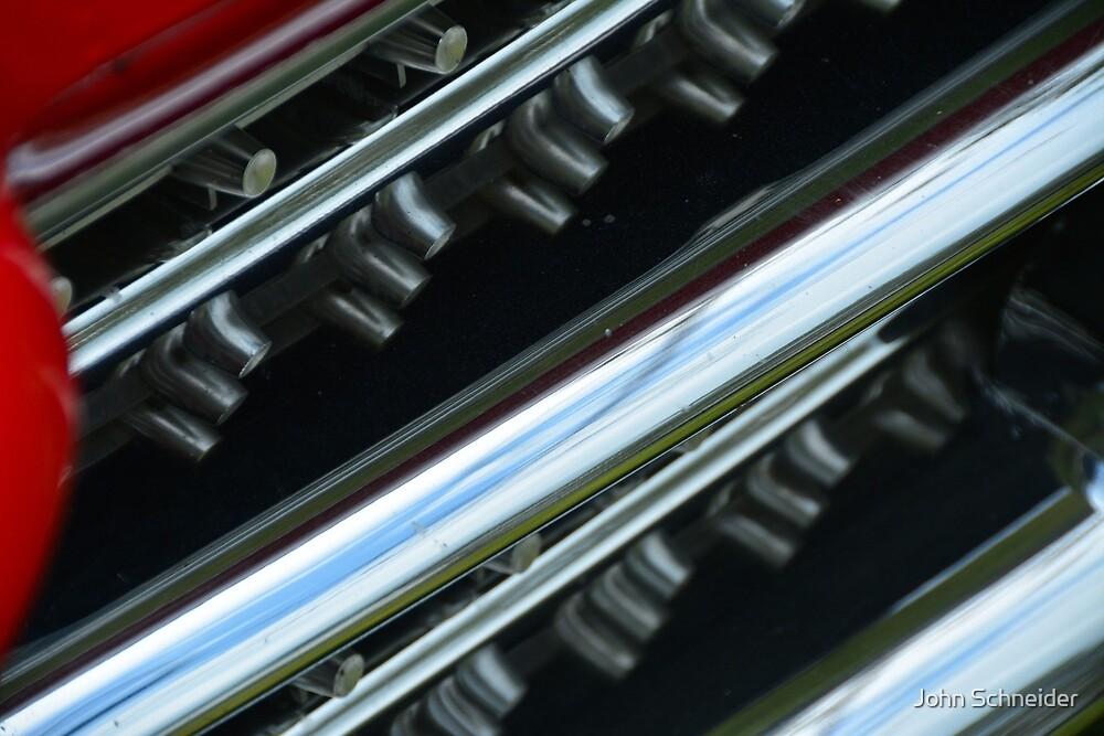 Rear Fascia 1959 by John Schneider