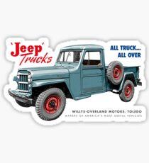 Jeep Trucks Sticker
