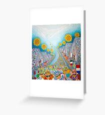Le Tour de France. Greeting Card