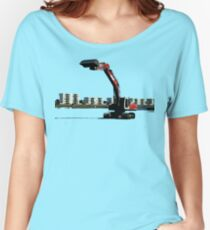 buldozer Women's Relaxed Fit T-Shirt