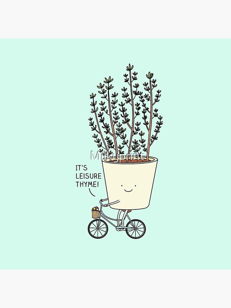 Leisure thyme by Milkyprint