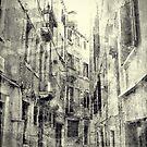 Italian street scene by friendlydragon