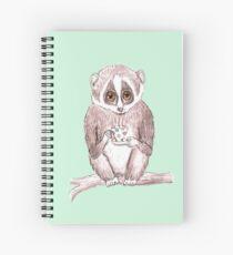 Slow down Loris! Spiral Notebook