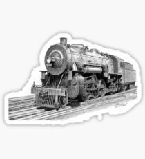 Locomotive Sticker