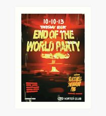 Vortex Club - Another End of the World Vortex Club Poster Art Print