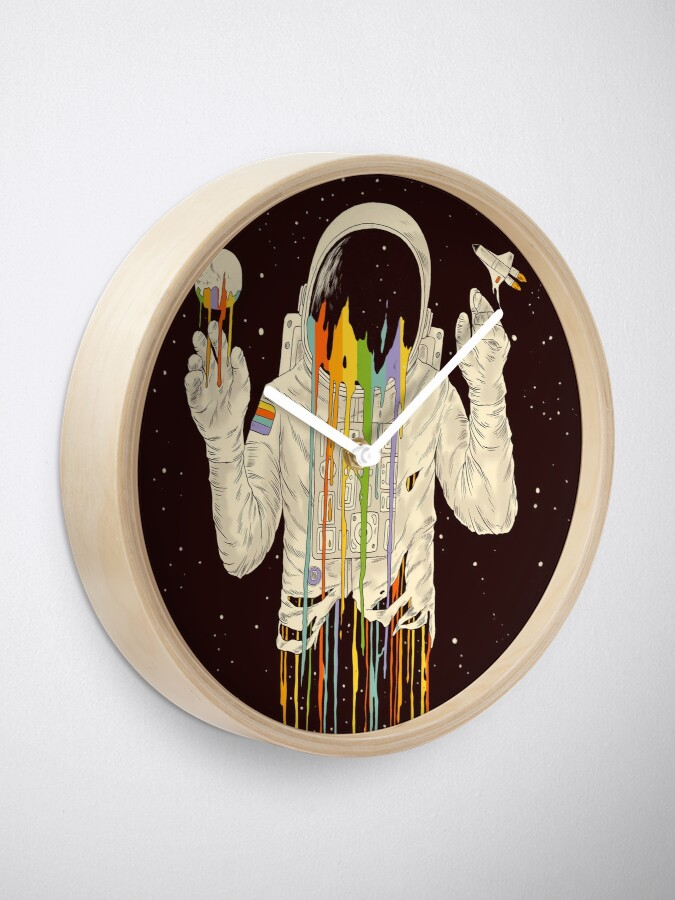 Alternate view of A Dreamful Existence Clock