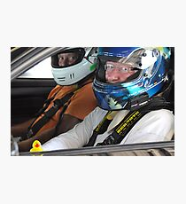 Guess who goes racing?! Photographic Print