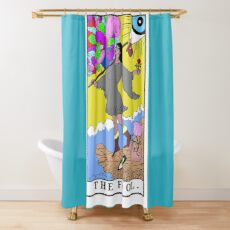 The Fool (c) A.R. Minhas 2018 Shower Curtain