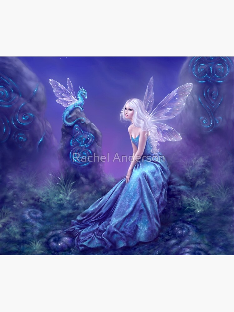 Luminescent Fairy & Dragon Art by silverstars