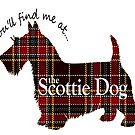 Tartan Scottie Dog by JEHenderson