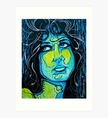Grace Slick Art Print
