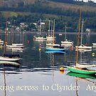 Looking towards Clynder Argyll by Alexander Mcrobbie-Munro