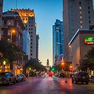 Downtown Fort Worth at Sunset by josephhaubert