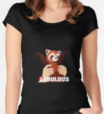 PABULOUS Women's Fitted Scoop T-Shirt