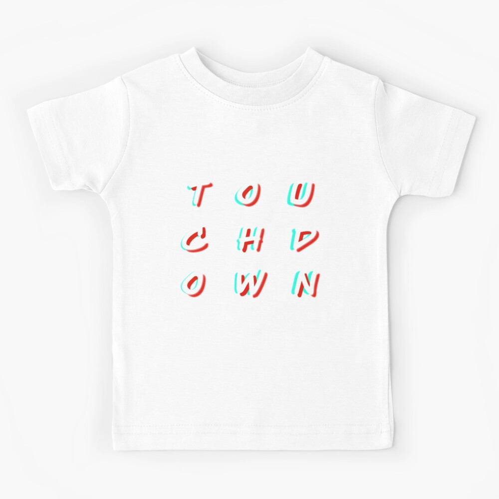 Amerian Football Touchdown Kinder T-Shirt