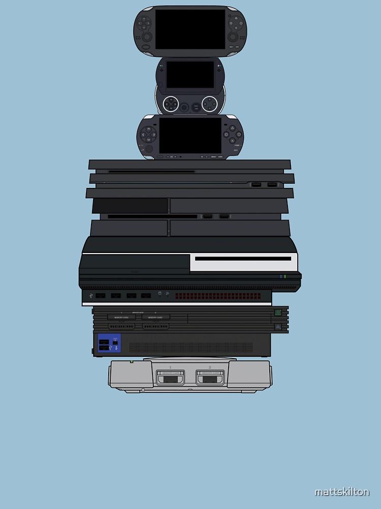 Playstations by mattskilton