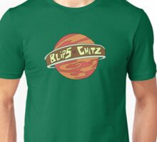Blips and chitz logo from Rick and Morty in color Unisex T-Shirt