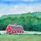 Red Barn by Cameron Porter