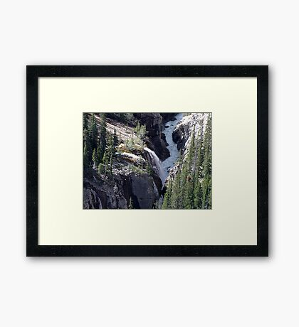 Sunwapta River Framed Print