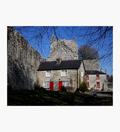 Cottage by Boyle Abbey Photographic Print