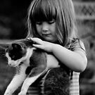 Brooke and her kitty by Erica Sprouse