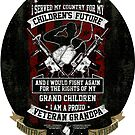 US Veteran I Served MY Country for My Kids  by IconicTee