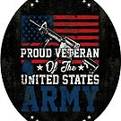 Proud Veteran of United States Army by IconicTee