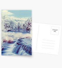 An Infrared Evening at Warleigh Weir  Postcards