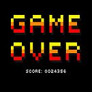 Game Over Black by Kostas Sintakis