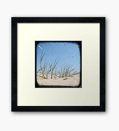 Grassy Dunes - TTV #1 Framed Print