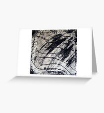 Gridlocked Greeting Card