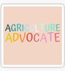 Agriculture Advocate Sticker