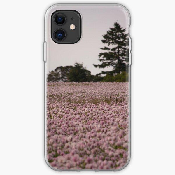 Poppy Field  iPhone Soft Case