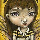 Bernie - the honey bee girl by tanyabond