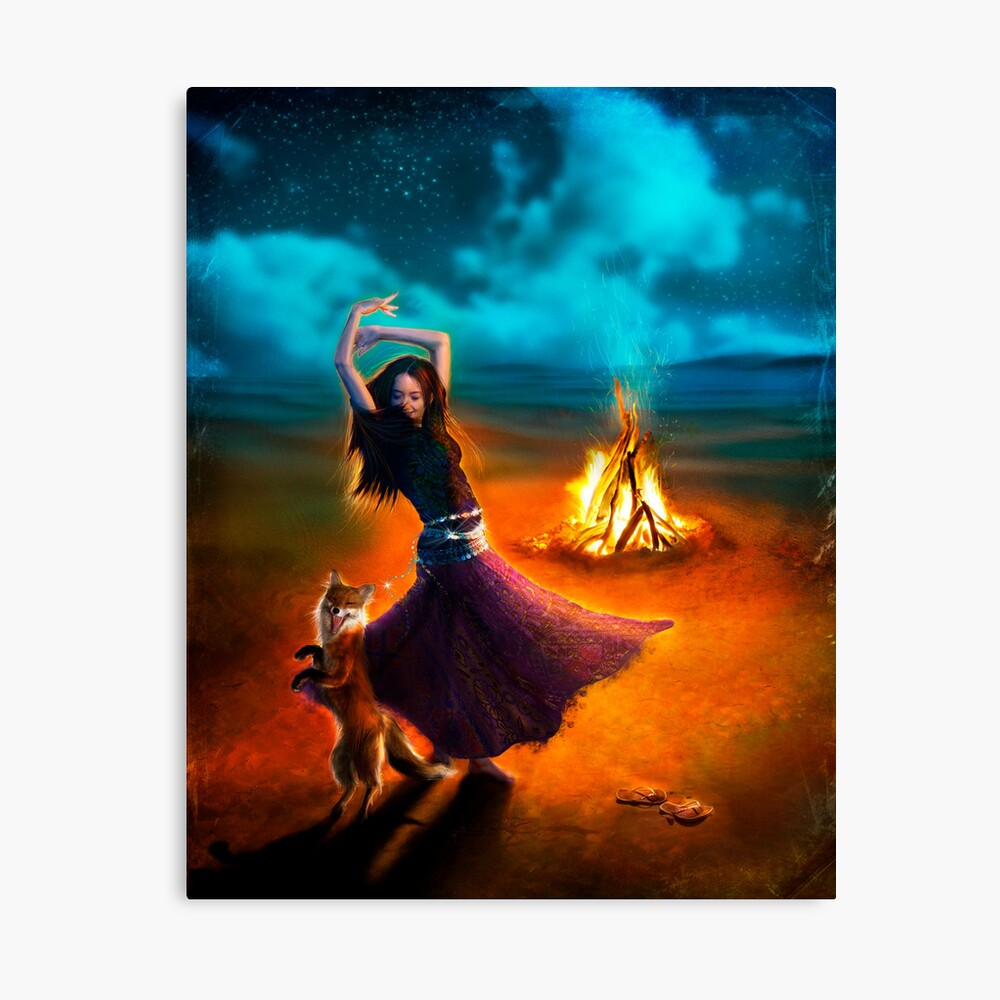 Dance Like a Dervish II Canvas Print