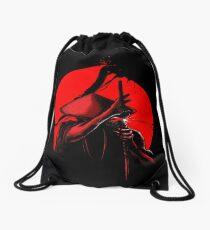 Samurai Slice Drawstring Bag