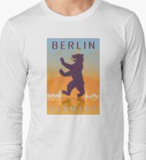 Berlin vintage poster Long Sleeve T-Shirt