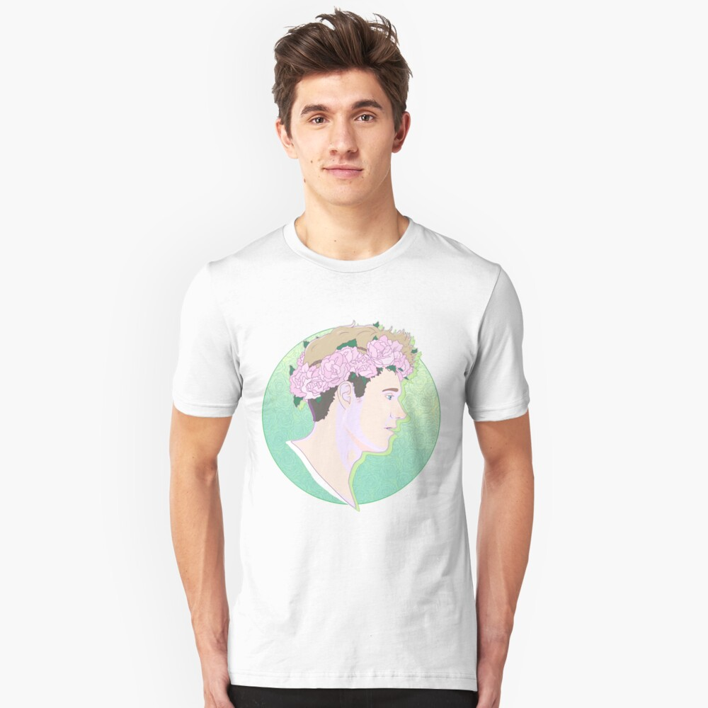 Flower crown niall horan unisex t shirt by thebaldinosaur redbubble flower crown niall horan unisex t shirt by thebaldinosaur redbubble izmirmasajfo