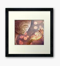 I Hold The Light For You - Tlkm Framed Print