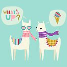 What's Up Llamas by Heather Rosas