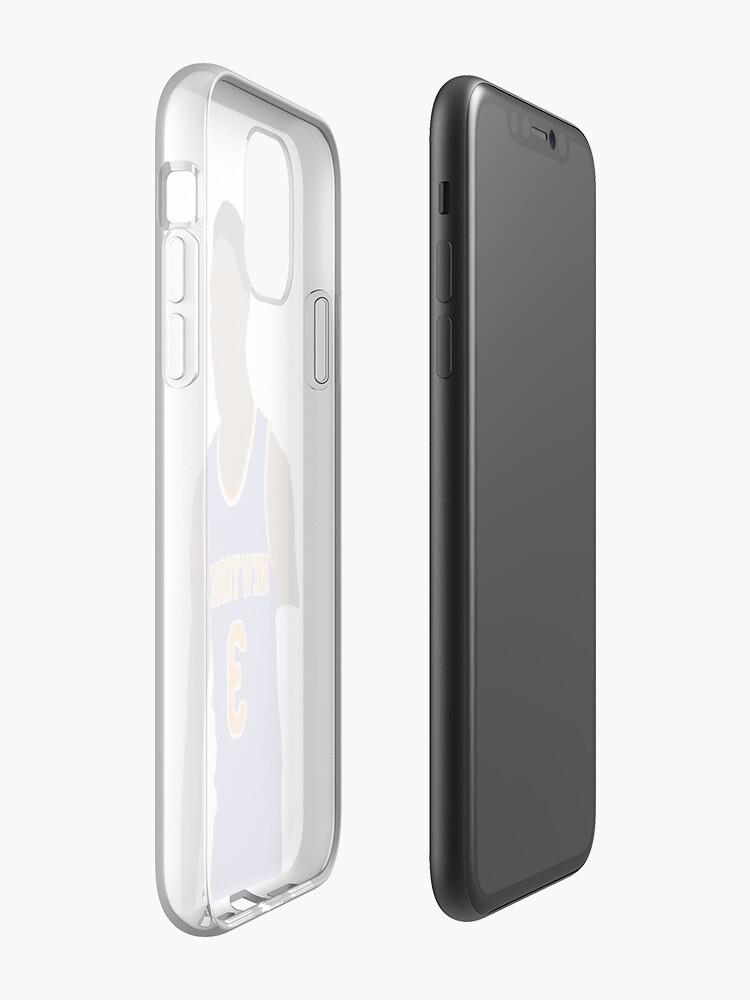 coque bape iphone x , Coque iPhone «RJ Barrett # 3 New York», par XxMrMushyxX